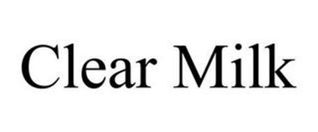 CLEAR MILK