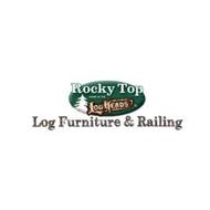 ROCKY TOP HOME OF THE LOGHEADS LOG FURNITURE & RAILING