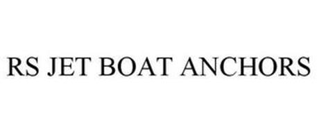 RS JET BOAT ANCHORS
