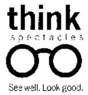 THINK SPECTACLES SEE WELL LOOK GOOD