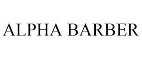 ALPHA BARBER