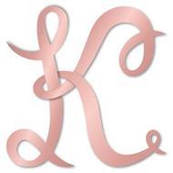"""A STYLIZED CAPITAL LETTER """"K"""""""