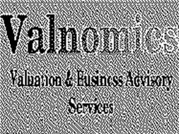 VALNOMICS VALUATION & BUSINESS ADVISORYSERVICES