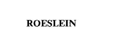 ROESLEIN
