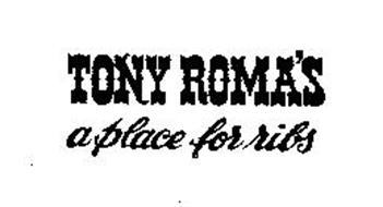 TONY ROMA'S A PLACE FOR RIBS