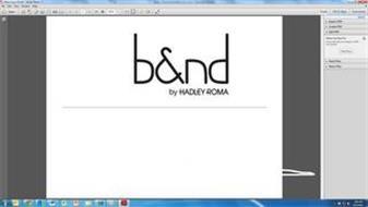 B&ND BY HADLEY-ROMA