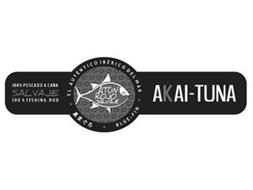 100% PESCADO A CANA SALVAJE 100% FISHING ROD AL AUTENTICO IBERICO DEL MAR ATON ROJO SALVAJE BLUE-FIN AKAI-TUNA