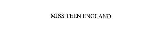 MISS TEEN ENGLAND