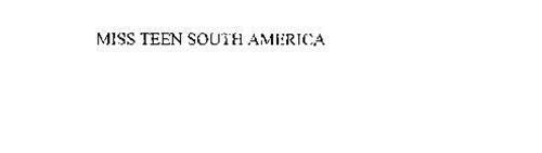 MISS TEEN SOUTH AMERICA