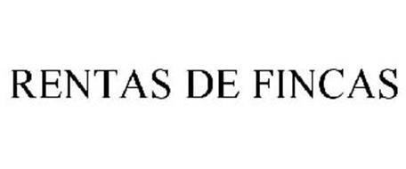 RENTAS DE FINCAS
