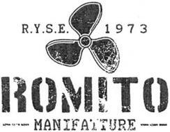 ROMITO MANIFATTURE R.Y.S.E. 1973