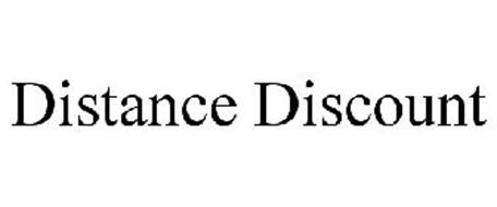 DISTANCE DISCOUNT