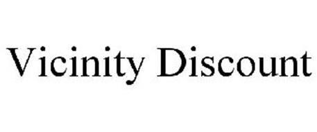 VICINITY DISCOUNT