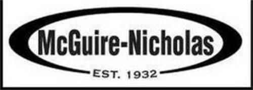 MCGUIRE-NICHOLAS EST. 1932