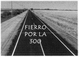 FIERRO POR LA 300