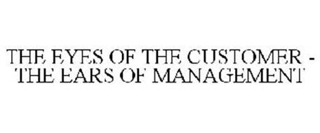 THE EYES OF THE CUSTOMER - THE EARS OF MANAGEMENT