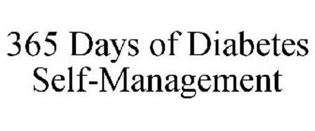365 DAYS OF DIABETES SELF-MANAGEMENT
