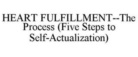 HEART FULFILLMENT--THE PROCESS (FIVE STEPS TO SELF-ACTUALIZATION)