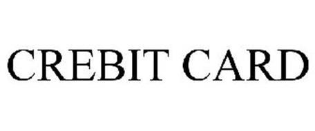 CREBIT CARD