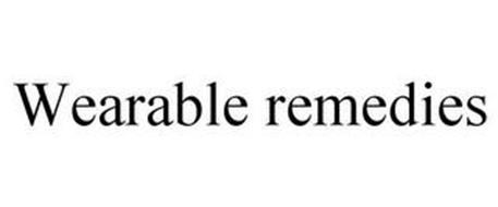 WEARABLE REMEDIES