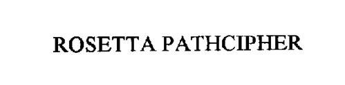 ROSETTA PATHCIPHER