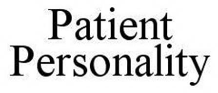 PATIENT PERSONALITY