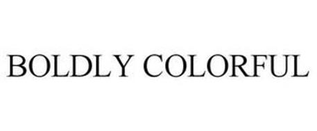 BOLDLY COLORFUL
