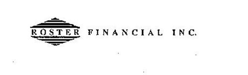 ROSTER FINANCIAL INC.