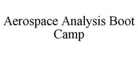 AEROSPACE ANALYSIS BOOT CAMP