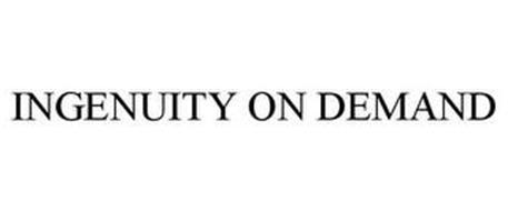 INGENUITY ON DEMAND