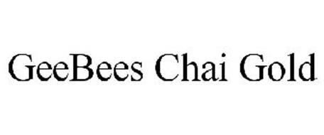 GEEBEES CHAI GOLD