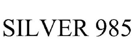 SILVER 985