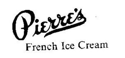 PIERRE'S FRENCH ICE CREAM