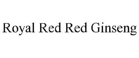 ROYAL RED RED GINSENG