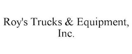 ROY'S TRUCKS & EQUIPMENT INC.