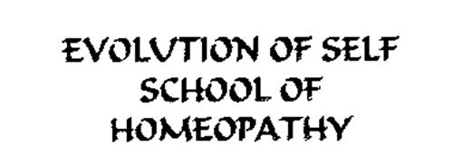 EVOLUTION OF SELF SCHOOL OF HOMEOPATHY