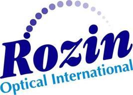 ROZIN OPTICAL INTERNATIONAL