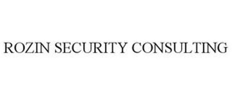 ROZIN SECURITY CONSULTING