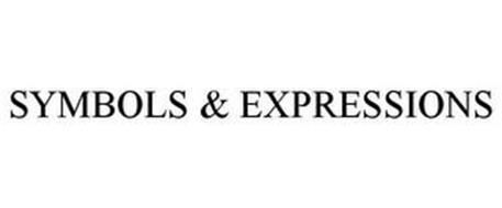 SYMBOLS & EXPRESSIONS