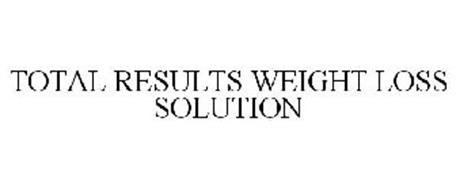 TOTAL RESULTS WEIGHT LOSS SOLUTION