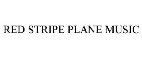 RED STRIPE PLANE MUSIC
