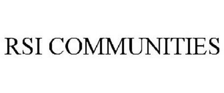 RSI COMMUNITIES