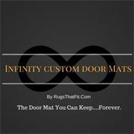 INFINITY DOOR MATS THE DOOR MAT YOU CAN KEEP...FOREVER. RUGSTHATFIT.COM