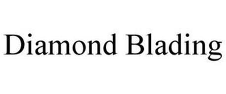 DIAMOND BLADING