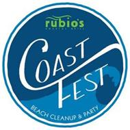 RUBIO'S COASTAL GRILL COAST FEST BEACH CLEAN UP AND PARTY
