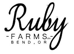 RUBY - FARMS - USA BEND , OR