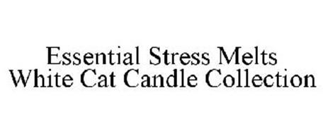 ESSENTIAL STRESS MELTS WHITE CAT CANDLE COLLECTION