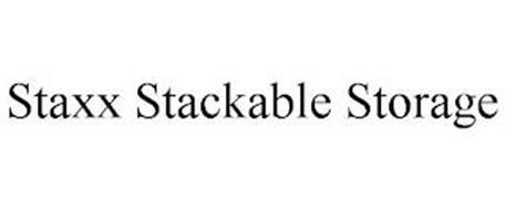 STAXX STACKABLE STORAGE