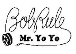 BOBRULE MR. YO YO