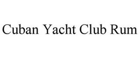CUBAN YACHT CLUB RUM